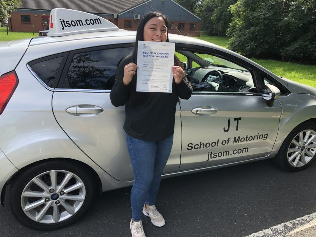 Driving lessons Telford. Test Pass