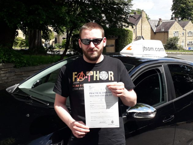 Driving Lessons Huddersfield, Test Pass